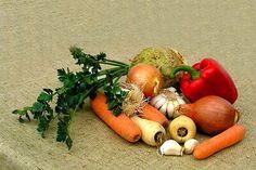Střídání plodin na záhonech
