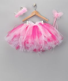 Take a look at this Pink Tutu Set by Sweet Tweet Bowtique on #zulily today!