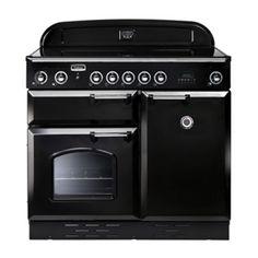 Falcon Classic 100, Range Cooker, Induktionskochfeld, 100 cm, Farbe Gloss Black