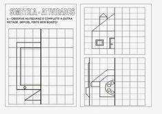 Blog Primer Ciclo: 2ºB Dibujos con eje de Simetría