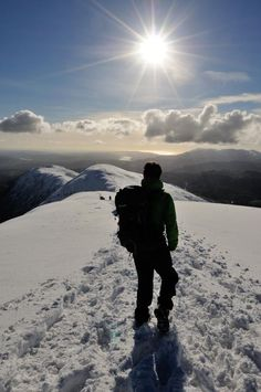 Skiddaw - early November - Winter is coming! Time for a new board soon!