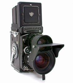ローライフレックス3.5F プラナー75mmF3.5 + ローライ・ムター 0.7倍
