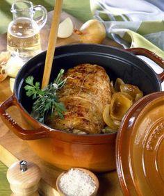 Stege svinekød i gryderet med sennep - Best Pins Pork Casserole, Casserole Dishes, Cooking Pork Chops, Mustard Recipe, Fancy Dinner Recipes, Health Dinner, Chops Recipe, Pork Chop Recipes, Pork Roast