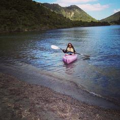 Lake Tawera, Kayaking Enquire with Hosts - Mairi and Ron  http://malfroymotorlodge.co.nz/ Photo credits maprang_pam ig — in Rotorua, New Zealand.