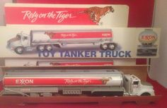 Exxon 1992 Toy Tanker Truck Working Lights Sound New | eBay