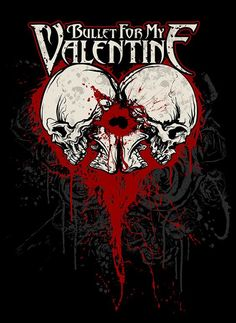 Bullet for my Valentine Bullet For My Valentine, Hard Rock Music, Rock Y Metal, Band Wallpapers, Metal Artwork, Music Artwork, Band Posters, Music Posters, Metal Bands