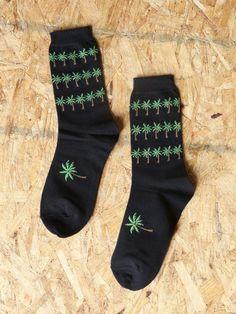 Palm Tree Socks - Gypsy Warrior