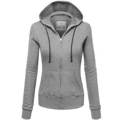 FPT Womens Basic Thermal Zip-Up Hoodie ($28) ❤ liked on Polyvore featuring tops, hoodies, thermal zip up hoodie, sweatshirt hoodies, thermal hoodie, zip up hoodie and thermal tops