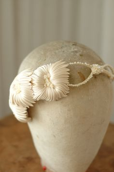 Couture bridal headpiece by www.parantparant.se #millinery #judithm #hats