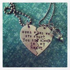 On SaleHis & Hers Broken Heart Hand by DarkChocolateNTulips, $26.00 awww so cute