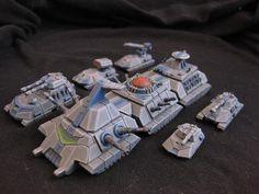 6mm Scifi Modular Supertanks   The Wargames Website