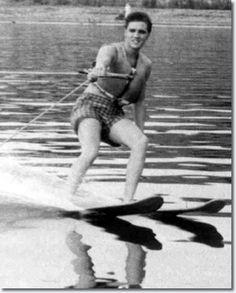 Elvis on Holiday : Water Skiing : McKellar Lake : July 1955 & Biloxi Mississippi: July 31, 1956