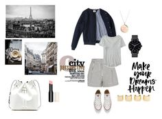 Le chic parisien by cludysskystyle on Polyvore featuring Aéropostale, 3.1 Phillip Lim, Converse, Sole Society, Kate Spade, The Horse, Luv Aj, women's clothing, women's fashion and women