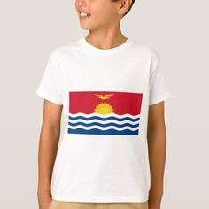 Shop Kiribati Flag T-Shirt created by flagshirts. Kiribati Flag, Flag Shirt, Shirt Style, Kids Outfits, Fitness Models, Shirt Designs, Tee Shirts, T Shirts For Women, Unisex