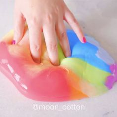 → Chroma Slime ● My first try at doing a multicolor slime! #mooncottonslime ☽ ☽ ☽ ☽ ☽ ☽ ☽ #slime #slimes #slimey #slimetime #satisfying #slimevid #asmr #floam #satisfyingvideo #slimevideo #asmrtingles #rainbow #rainbowslime #fluffyslime #oddlysatisfying #bigslime #butterslime #slimegoals #slimeusa #slimetherapy #sweetdeco #talisatossell #butterslime #slimeworld #slimer #slimeworld #planetslimeynotice #literallymustardnotice #HBSnotice