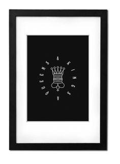 Kings & Queens by Norbert Katona, via Behance