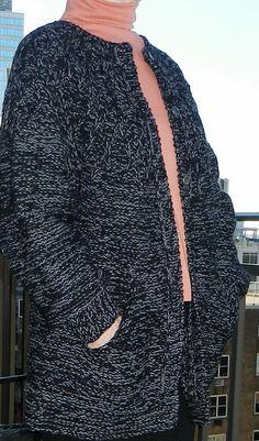 Ravelry: Branching Out round yoke sweater/coat pattern by Joan Dyer