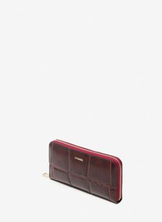 Mock-croc leather wallet - View all - Accesories - Uterqüe Ireland