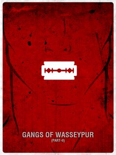 Gangs of Wasseypur ~ Minimal Movie Poster by Pramod Mahanand Iconic Movie Posters, Minimal Movie Posters, Minimal Poster, Movie Poster Art, Quote Posters, Film Posters, Guess The Movie, Be With You Movie, Bollywood Posters