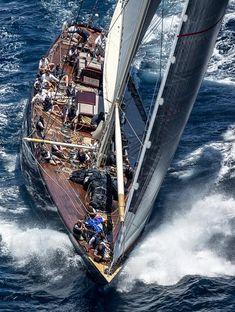 J Lionheart - 2019 Super Yacht Cup, Palma de Majorca Classic Sailing, Classic Yachts, J Class Yacht, Yacht Boat, Dinghy, Sail Away, Tall Ships, Wooden Boats, Catamaran