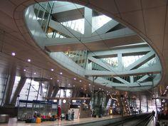 Frankfurt a. Main, Airport Station by Heinz-Jörg Kretschmer on 500px