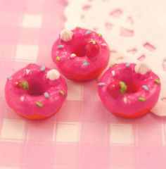These #kawaii style #cabochons are perfect for all kinds of #crafts, from decoden to jewellery #jewelry making, scrapbooking and cardmaking etc.