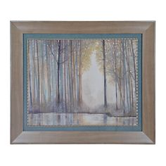 Forest Reflections Framed Art Print | Kirklands