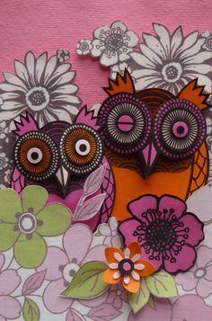 owl pair by Helen Musselwhite