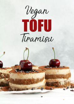 Vegan gluten-free Tofu Tiramisu