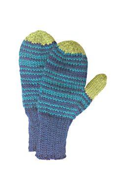 MittensChildren's Hand knit Fun Design Seamless by LizSox, $25.00 http://www.etsy.com/shop/LizSox