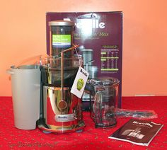 Breville Juice Fountain Max Unboxing