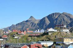 Village in Sisimiut, Greenland.