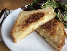 It's early March and there's still snow on the ground — the only solution? Eat more grilled cheese. Here are eight notable versions of the childhood classic to comfort you through the last weeks of winter.