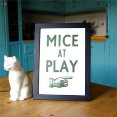 Mice at Play print
