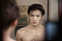 Beloved Jae-joong revealed his perfect six packs ❤️ JYJ Hearts