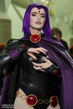 Comikaze 2014 Raven Teen Titans Abby Normal Cosplay