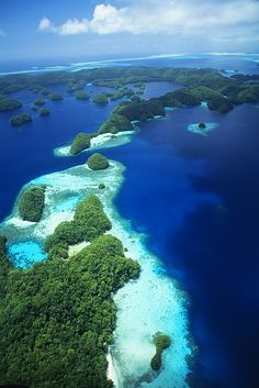 Palau Rock Islands, Micronesia.I want to visit here one day.Please check out my website thanks. www.photopix.co.nz