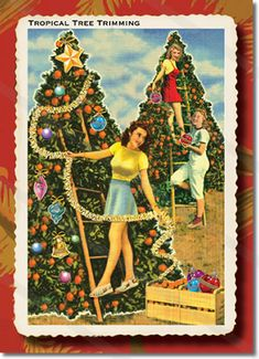Hula Girl Christmas Card – Hula Dancers This Hula Girl Christmas ...