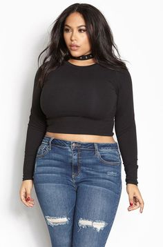 12b85e4b139 9 Best black crop top outfit images in 2019 | Pretty outfits, Woman ...