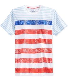 89f365250e3 American Rag Men s Color Stripe T-Shirt