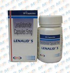 Lenalid 5mg Capsule - Lenalidomide 5mg is used in the treatment of multiple myeloma and lepra reaction. #Cancer #multiplemyeloma #romania #cancerdrugs #capsules