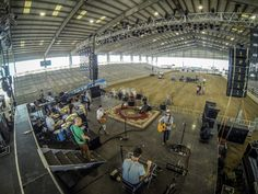 Billy Currington  Photo from today's soundcheck in Mercedes, Texas at the Rio Grande Valley Livestock Show and Rodeo.