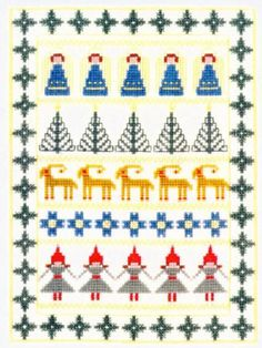 Christmas Decorations (Scandinavian Stitches)
