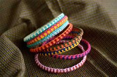 macrame bracalets (for summer!!!)