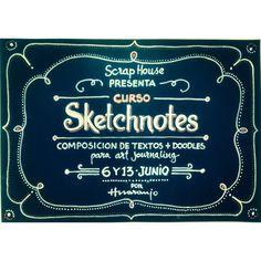 Taller de Doodling y sketchnotes en Scraphouse