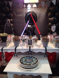 Decoracion Darth Vader