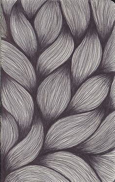 This is a photo of a texture which is more visual than tactile. You can tell because you cannot touch this particular texture. The shadowing of the photo makes it look like a texture that pops out at you. Grafic Design, How To Draw Braids, Texture Drawing, Pencil Texture, Texture Sketch, Line Texture, Texture Painting, Visual Texture, Zentangle Patterns