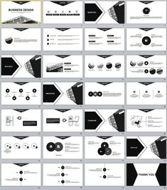 28+ gray business design PowerPoint templates
