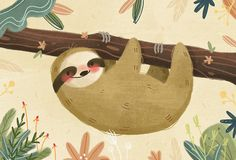 sloth around by Lindsay Dale
