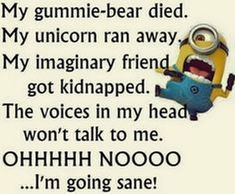 Funny Minions from Louisville . - Minions, Quotes, Sayings Minion Humour, Funny Minion Memes, Minions Quotes, Hilarious Jokes, Dad Jokes, Funny Qoutes, Funny Quotes About Life, Life Quotes, Sarcastic Quotes